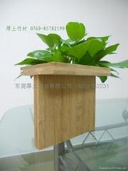 碳化纵横竹板