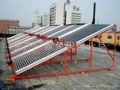 北京生产厂家承接太阳能热水工程批联箱水灌