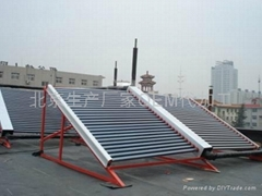 安装北京太阳能热水工程