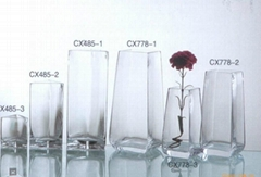 flower glass vase