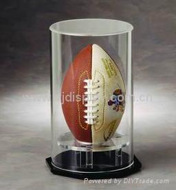 acrylic football display case 3
