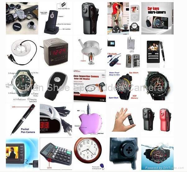 Spy camera equipment