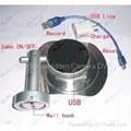 HD Bathroom Spy Camera Stainless steel Soap Box Camera DVR 16GB 1280x720 5.0 Meg 2