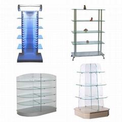 Glass Display Racks