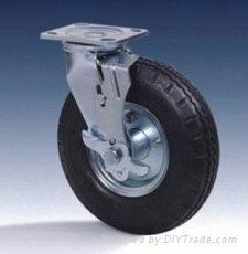 供应充气胎脚轮