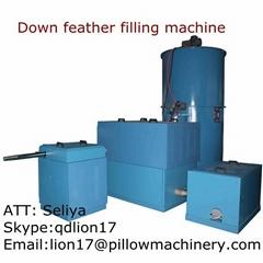 Feather Jacket filling machine