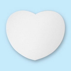 Sublimation Mouse Pad ( Heart)