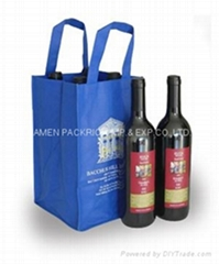 High quality non woven wine packing bag
