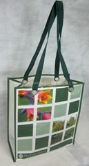 PP Woven tote bag with full printing