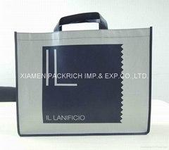 Large reusable non woven shopping bag with large silver print area (Hot Product - 1*)