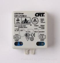 3W 700mA constant current LED driver