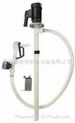 STANDARD斯坦德電動手提式插桶泵