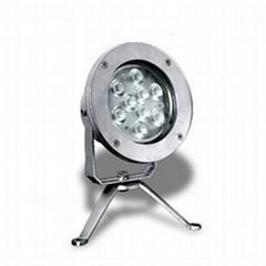 9-LED High Power Underwater Spot Light
