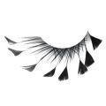 handmade feather eyelash