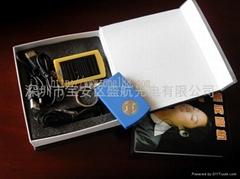 供應太陽能收音機手電筒