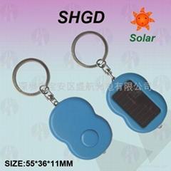 供應太陽能八字形手電筒