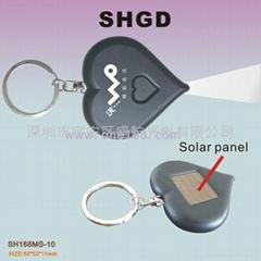 太阳能钥匙扣
