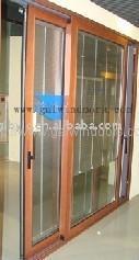 鋁木復合門