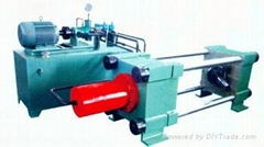 鋼瓶熱旋壓液壓收口機