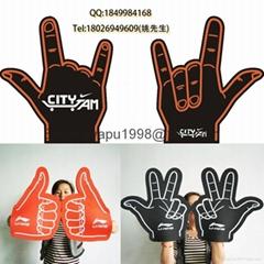EVA Cheering Foam Hand/EVA Cheering Foam Palm/eva sponge palm Manufactory