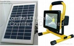 5w Portable Camping Solar Led Flood Lights