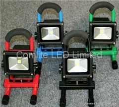 10w Portable Solar Led Flood Lights