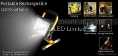 20w Led Solar Portable Floodlights