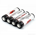 Efest 18650 3100mah 3.7v rechargeable protected Li-ion battery(1pc)