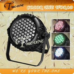 TH-221 5w*54 outdoor led par can/wedding led lights,rgb/rgbw led light stage