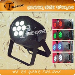 10w*7pcs Mini LED Par Can,RGBW/A Night Club Disco Light,LED Effect Light Par