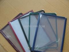PVC 菜单夹