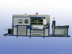 AUTOMATIC  HIGH-SPEED  VACUUM  FORMING  MACHINE AVF—4828DOT—PLC