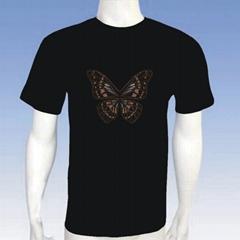 EL lighting t-shirt