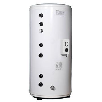 雙盤管換熱式承壓水箱(太陽能+燃氣壁挂爐) 1