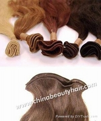 Handtied Weft Extension