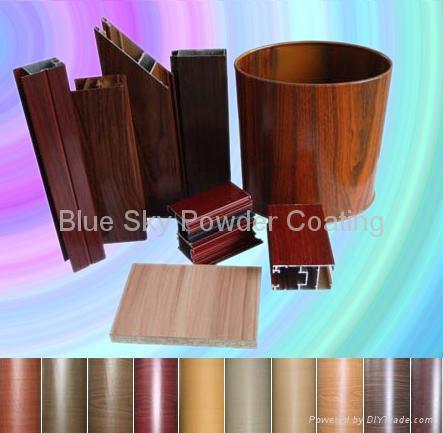 Wood grain effect Powder Coating Paint