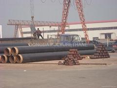 polyurethane foam system for pipe insulation