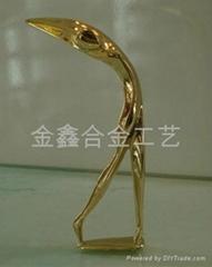 金屬高爾夫人獎杯