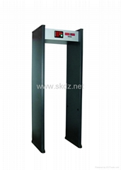 Walkthrough metal detector(Door Frame Metal Detec