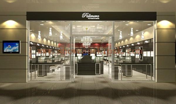 store shop showroom display case 3D design