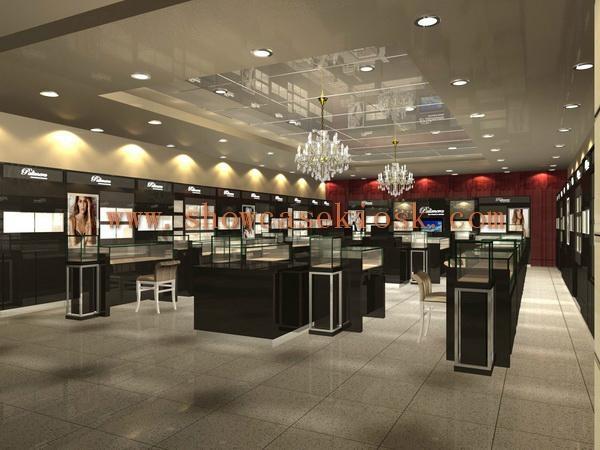 Store Shop Showroom Display Case 3d Design Ck0091