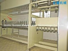 Condom production line