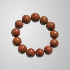 Pearl bracelet of needle stone