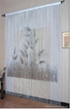 two sides fixed print string curtain