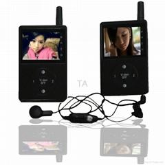 Full-duplex wireless walky talky