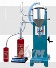 Fire extinguisher dry powder filling machine