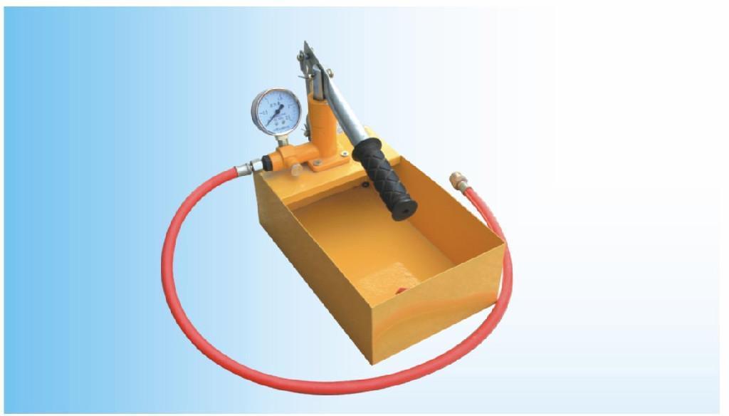 hydraulic testing pump 1