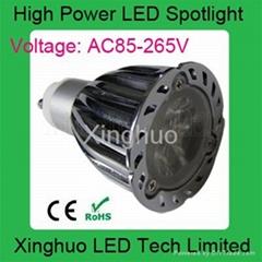 供應高亮LED6W射燈