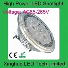廠價供應AR111高亮射燈