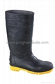 PVC safety shoes 2
